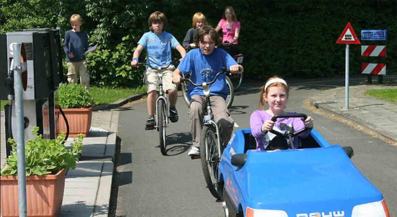 Por que os holandeses tem a cultura da bicicleta?