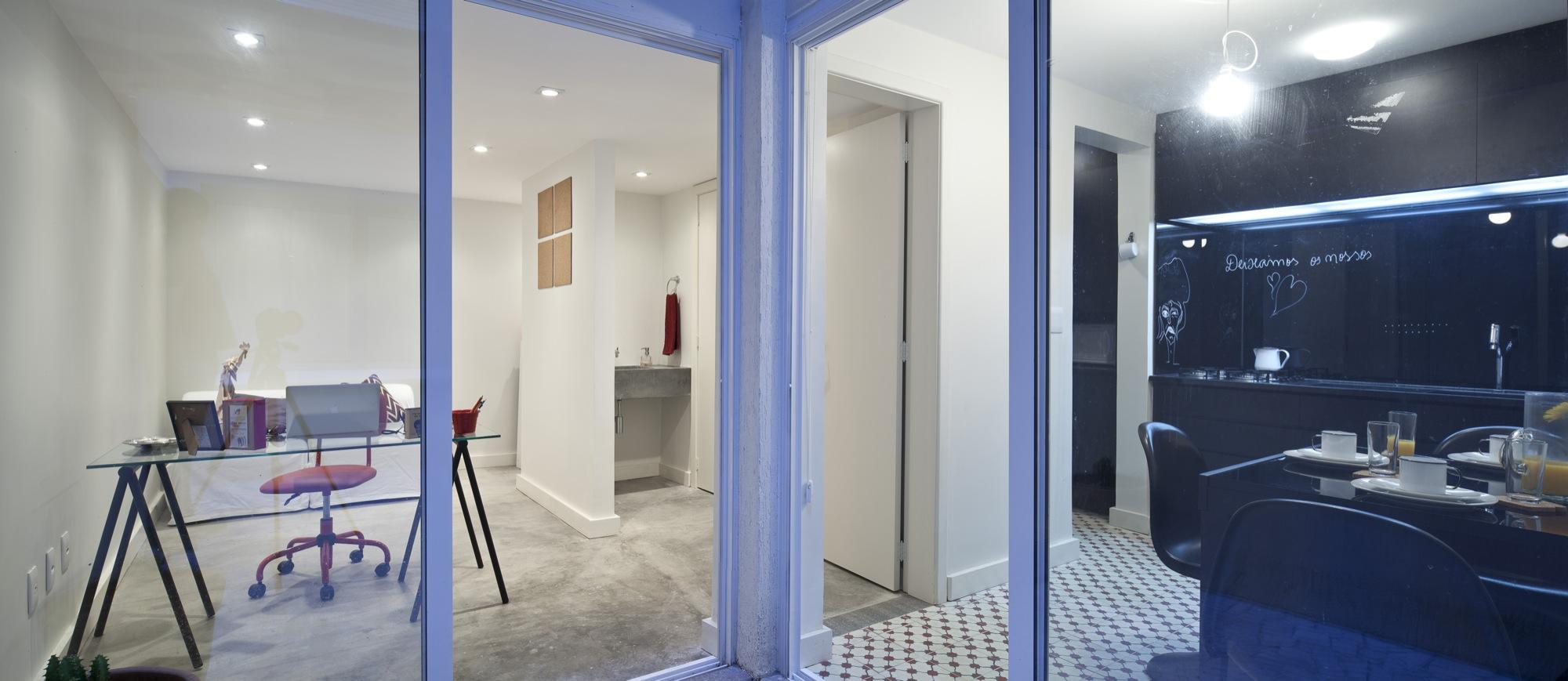 Apartamento da Atriz / 0E1 Arquitetos, © Marcelo Donadussi