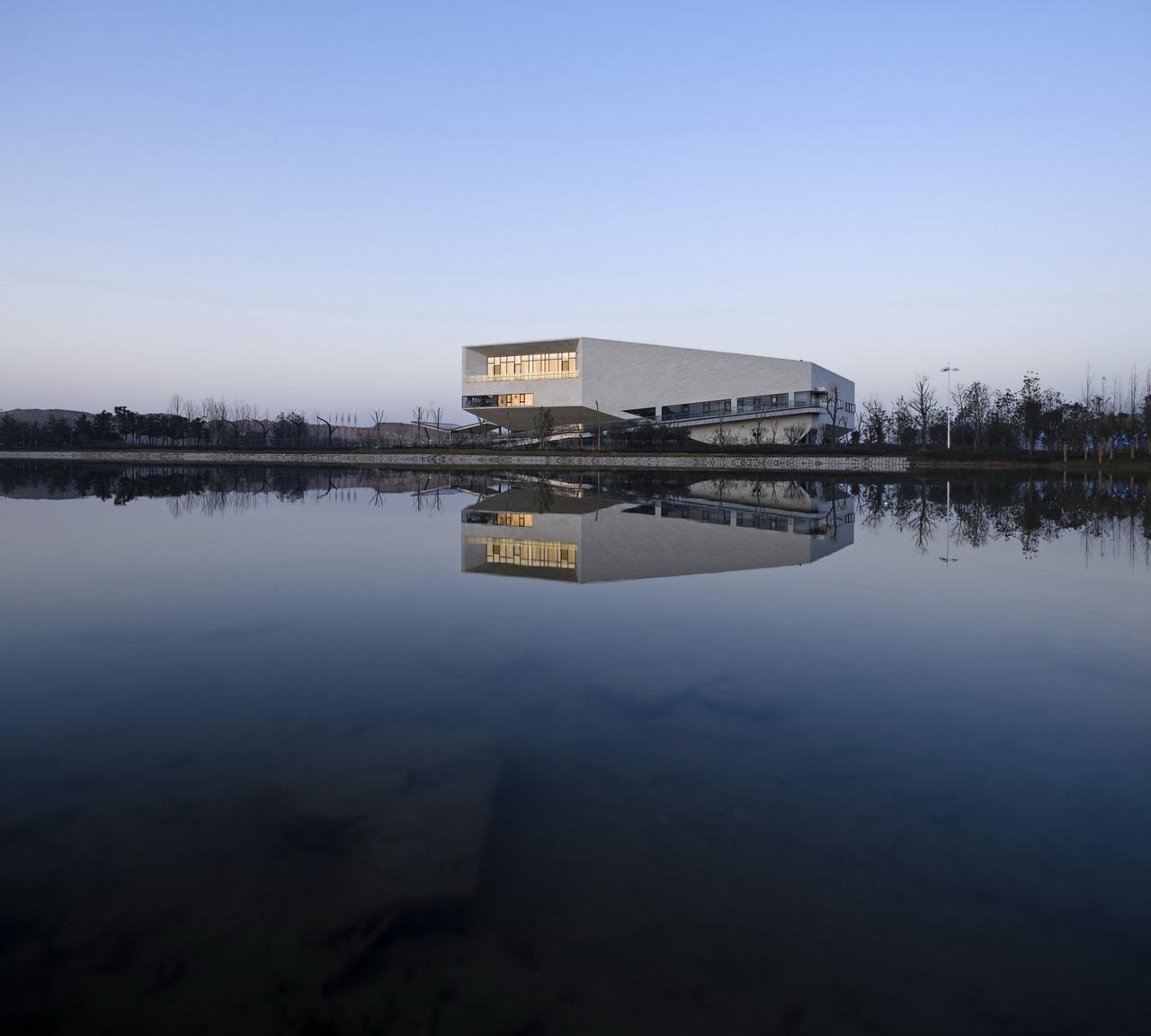 Centro de Recepção Bio-Lake / Zephyr Architects, © Yao Li