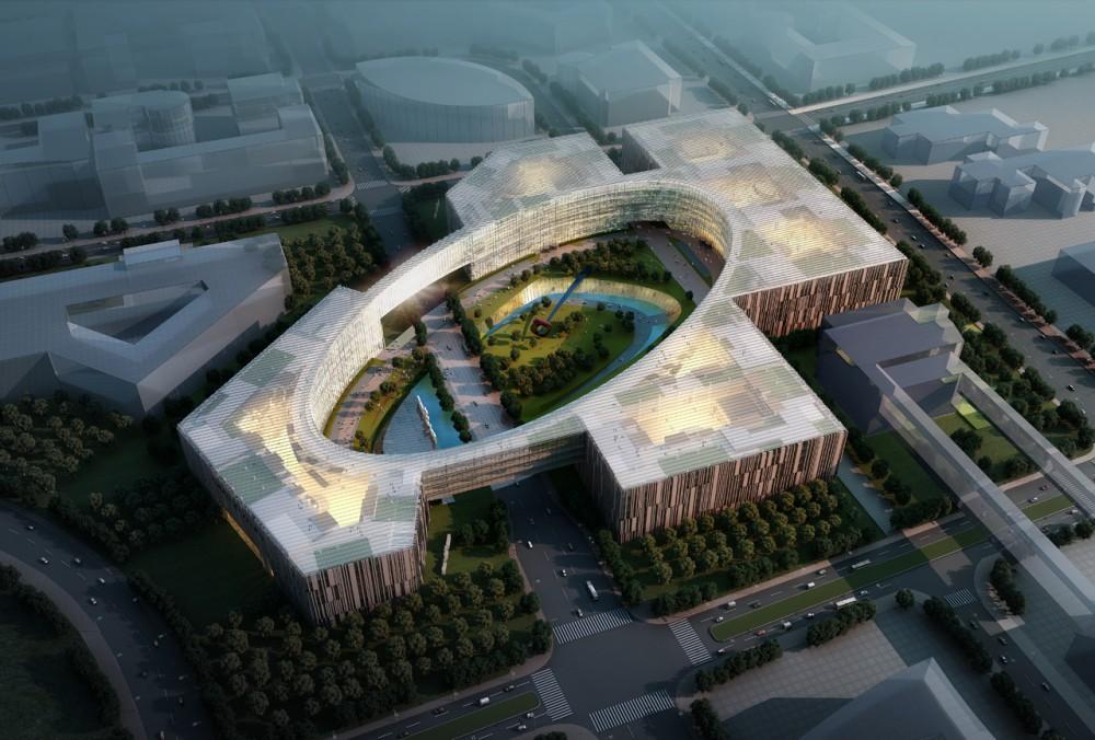 Campus de Ciências e Tecnologia de Baidu / ZNA Architects, Cortesia de ZNA Architects