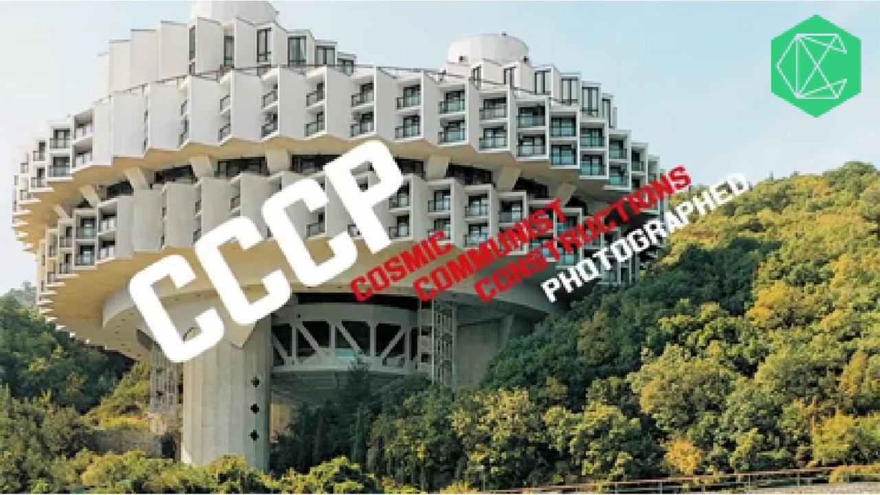 Vídeo: Livro Cosmic Communist Constructions de Frédéric Chaubin