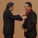 Thomas J Pritzker e Wang Shu