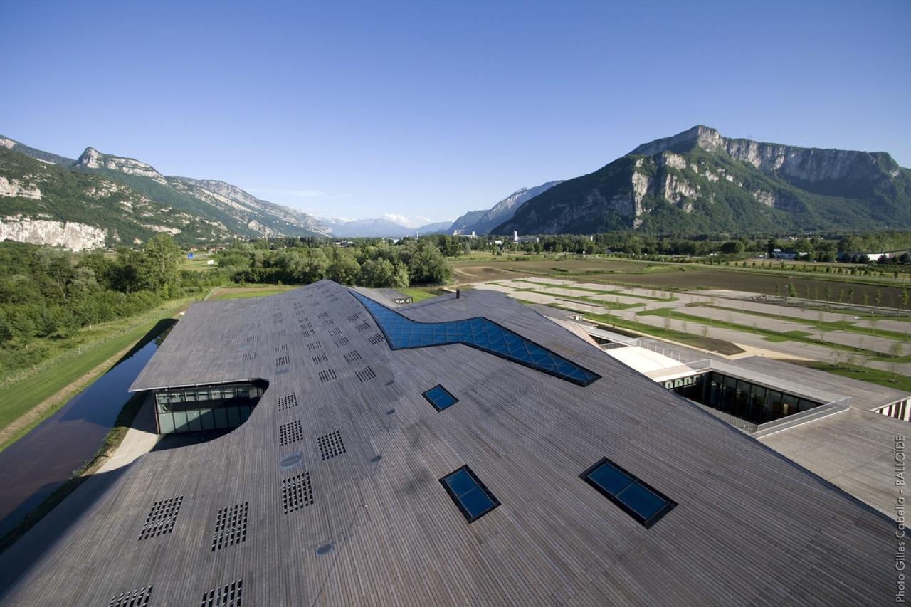 Sede Global da Rossignol / Hérault Arnod Architectes, © Gilles Cabella
