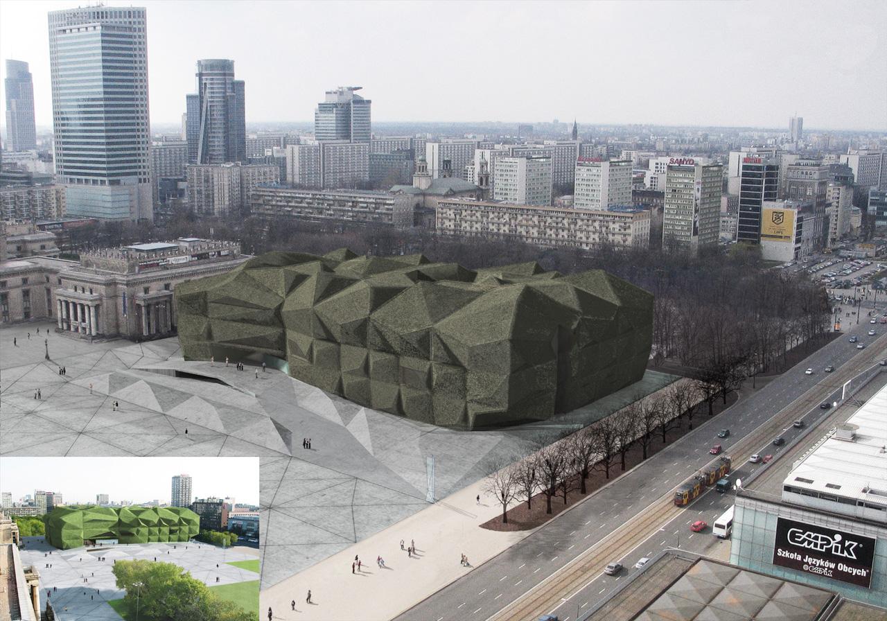 Museu de Arte Moderno em Varsóvia / Camilo Rebelo , Cortesia de Camilo Rebelo