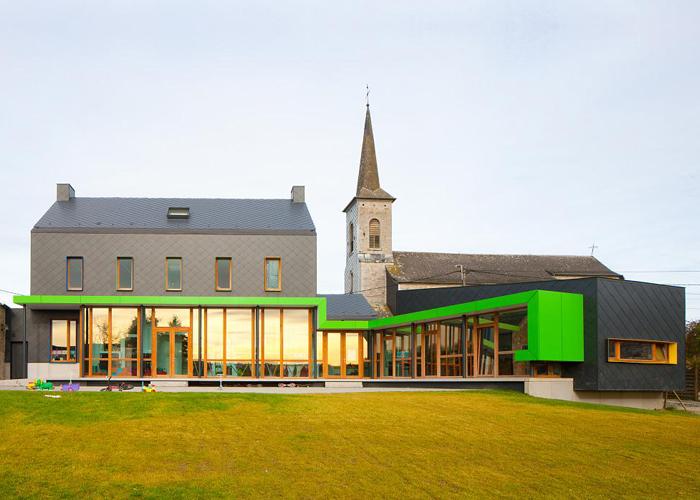 Escola Barvaux-Condroz / LR Architects, © M. van Coile