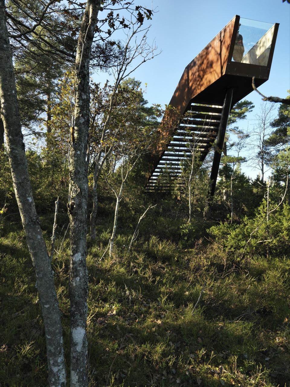 Escada da Floresta em Stokke / Saunders Architecture, © Bent René Synnevåg