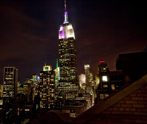 Novo sistema LED para o Empire State Building