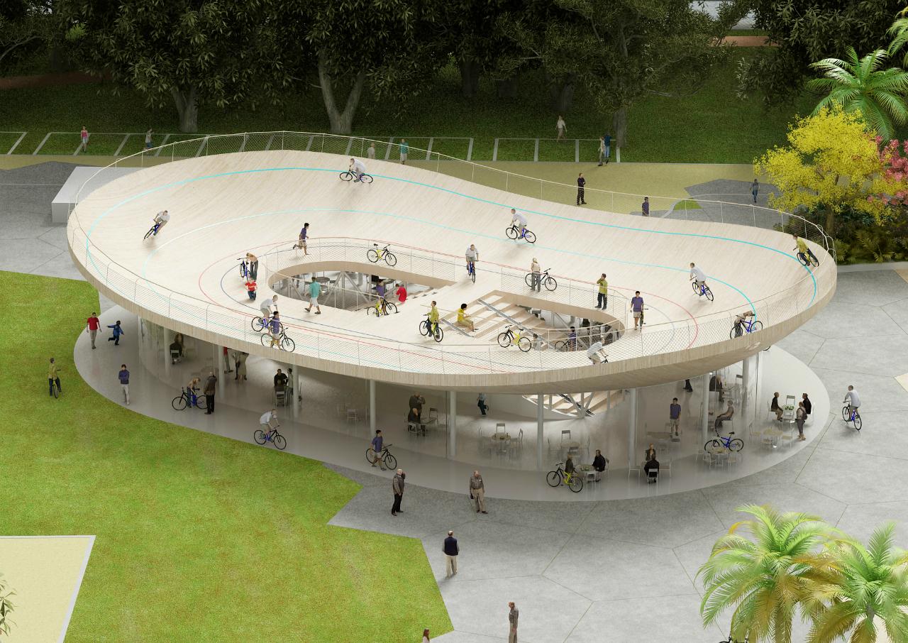 Clube de Bicicleta / NL Architects, Cortesia de NL Architects