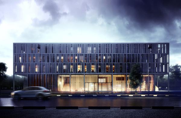 Tecnologia e Arquitetura: Maison du Batiment d'Aquitaine / Pawel Podwojewski, © motyw