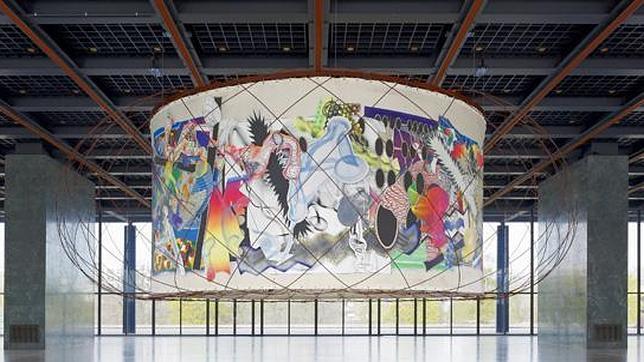 O plano e o tridimensional se unem na obra de Stella e Calatrava, A obra quando esteve exposta em Berlim no ano passado © abc.es