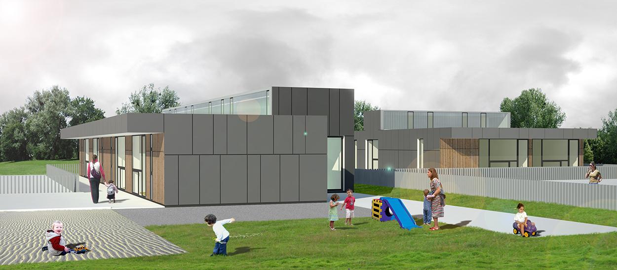 Creche em Zaldibar / VAUMM arkitekturak , Imagem 1