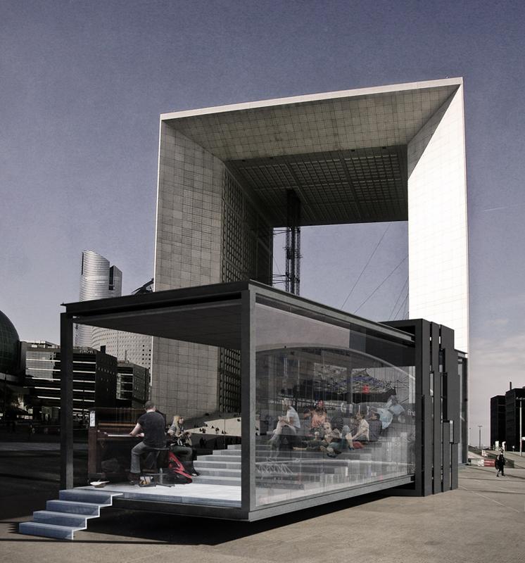 Proposta Pavilhão de Arquitetura / Ubicuo Diseño + Deriva Colectivo, Cortesia de Ubicuo Diseño