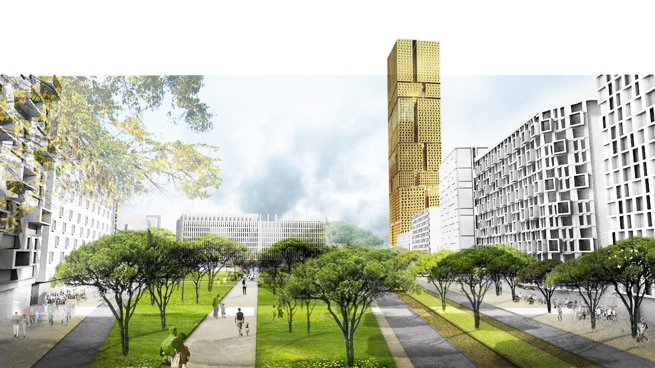 Plano Diretor de Tirana  / Grimshaw Architects, Cortesia de Grimshaw Architects