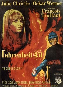 Cinema e Arquitetura: Fahrenheit 451, Cartaz