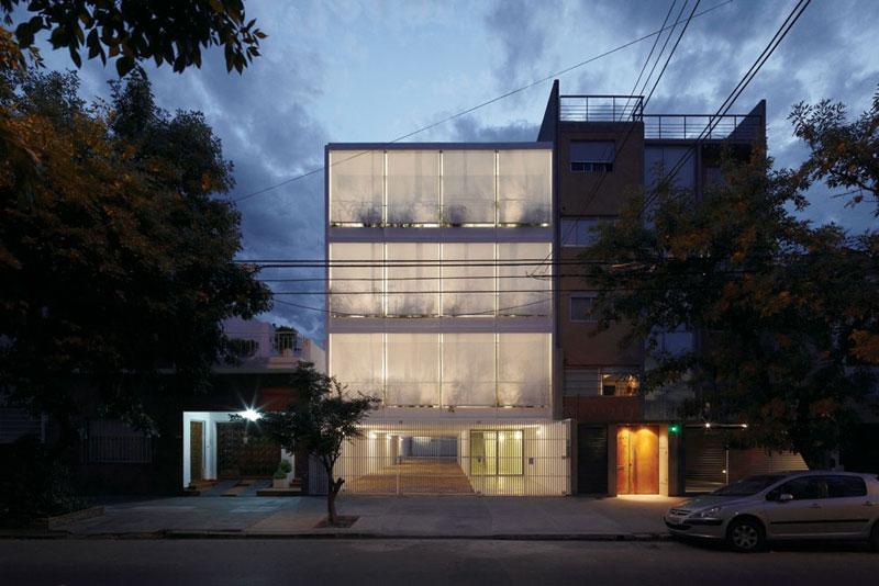 Edifício Once / Adamo Faiden, © Cristobal Palma