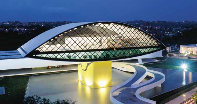 Museus Oscar Niemeyer (Curitiba) oferece entrada gratuita todos os domingos de dezembro de 2017
