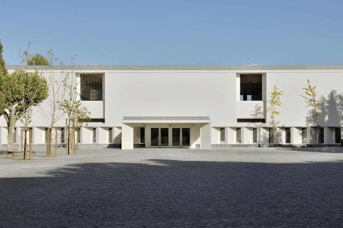 Escola Francisco de Arruda / José Neves, © Laura Castro Caldas & Paulo Cintra