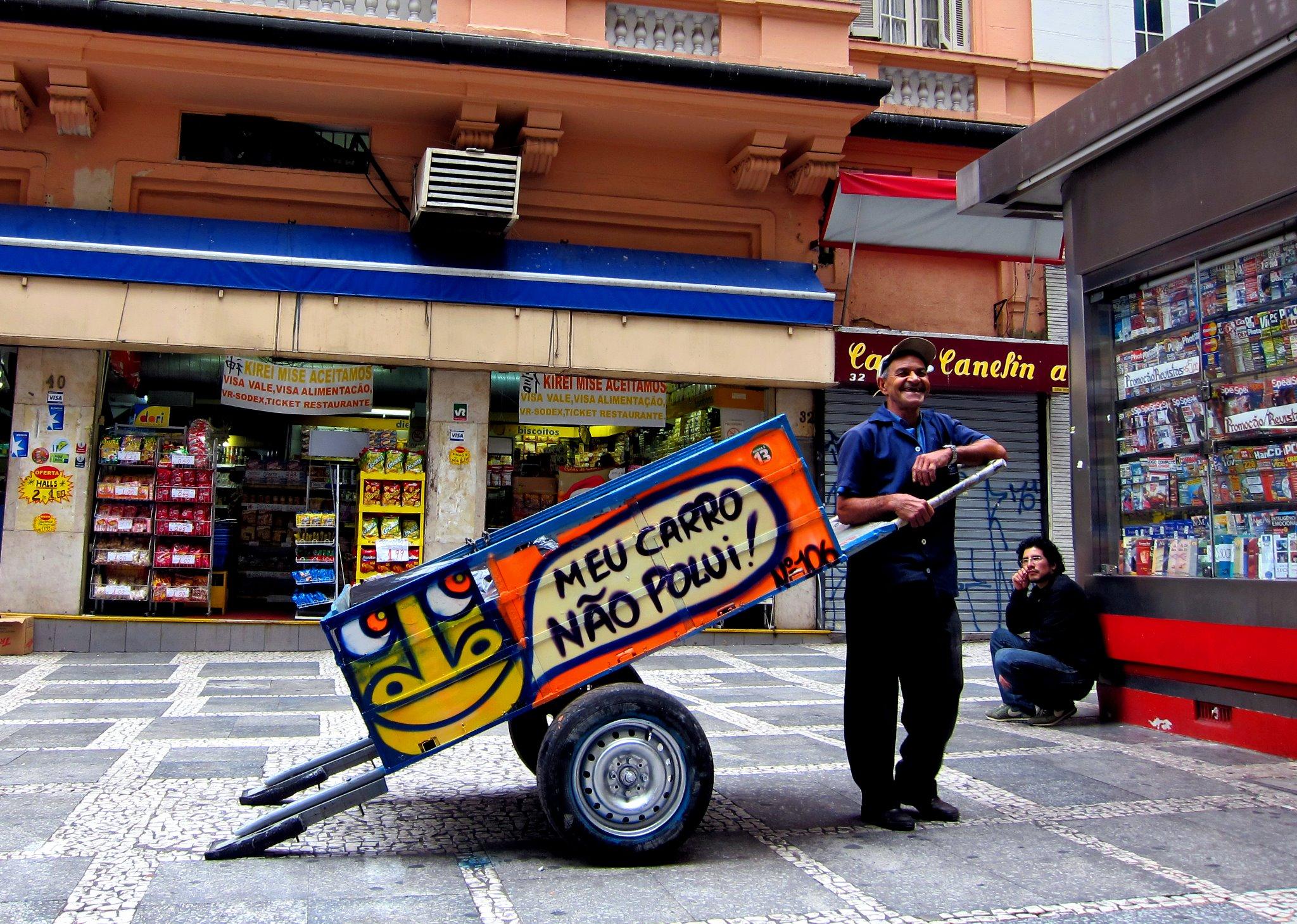 'Pimp my Carroça' em breve no Rio de Janeiro, © Cortesia de Pimp my Carroça