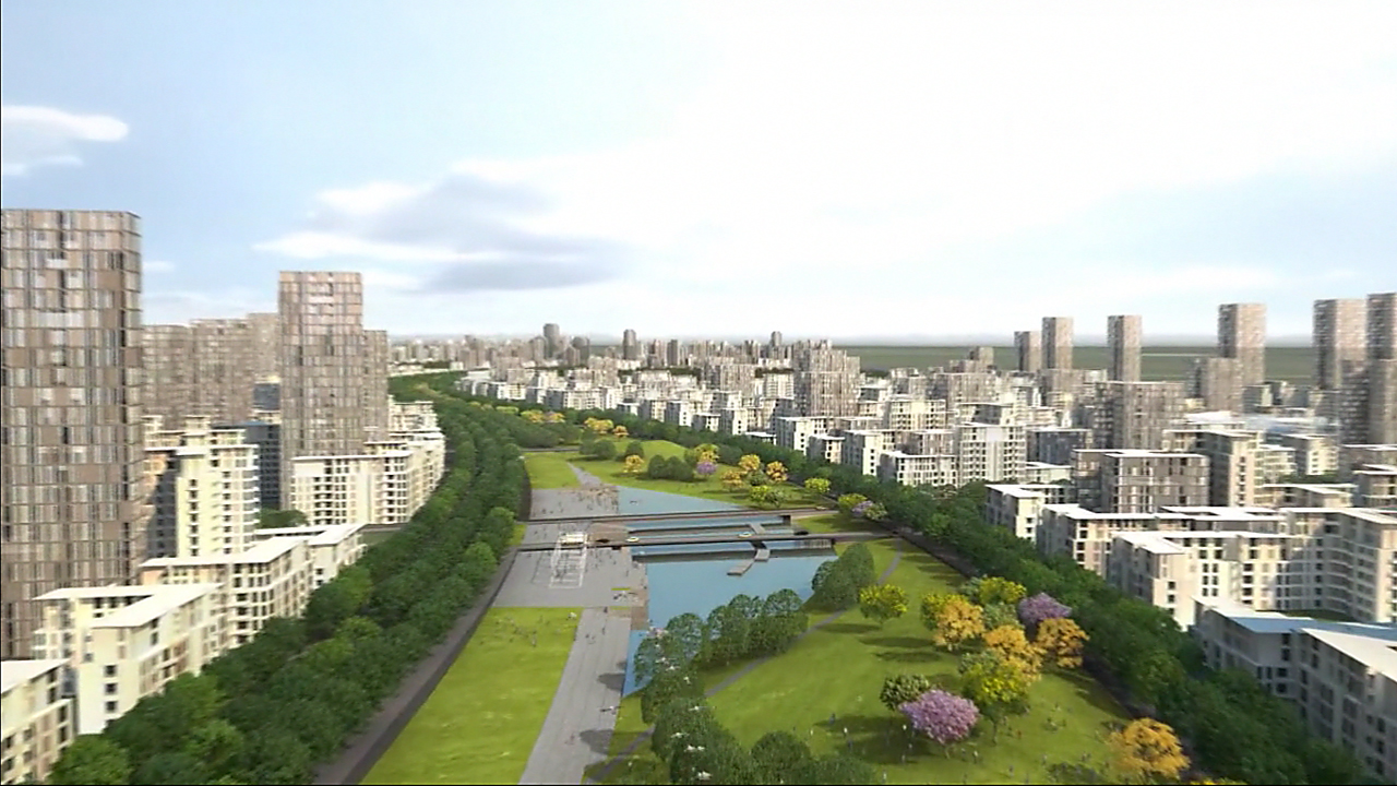Jaypee Sports City / Cannon Design + Peter Ellis New Cities, Cortesia de Cannon Design + Peter Ellis New Cities