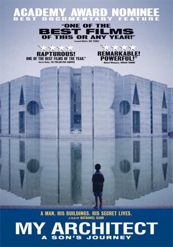 """Cinema e Arquitetura: Documentário """"My Architect"""", Cartaz"""