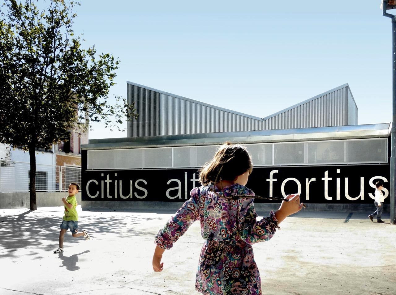 """Reforma do Colégio Público """"San Julián"""" / Gabriel Verd Arquitectos  , © Gabriel Verd"""