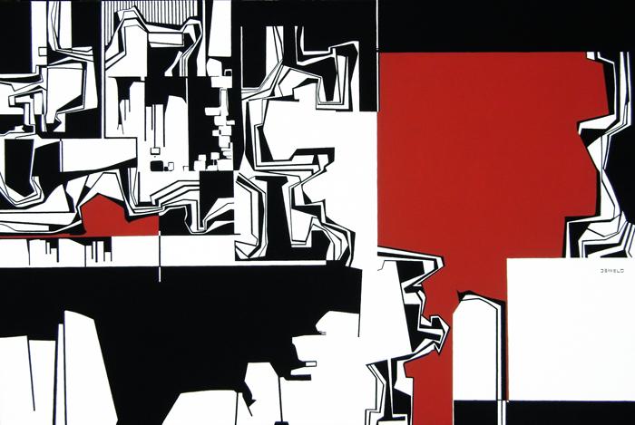 Arte e Arquitetura: Corporidades / João César de Melo, Tela ©  Cortesia João Cesár de Melo