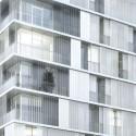 1° Lugar - Projeto de Escola Primária e Residência Estudantil / Chartier Dalix Architectes