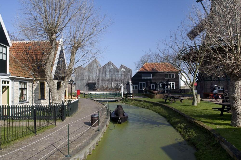 1° Lugar - Daylight 2012 - Kaap Skil, Marítimo e o Museu de Beachcombers / Mecanoo Architecten, Imagens via ArchDaily