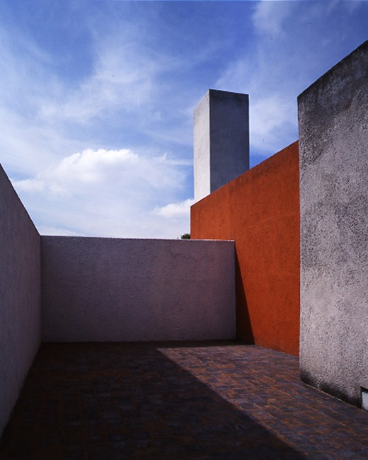 Galeria de cl ssicos da arquitetura casa luis barrag n for Jardin 17 luis barragan