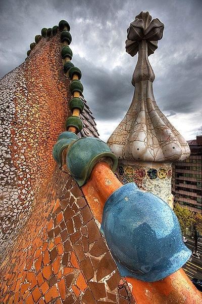 Feliz 160º Aniversário Antoni Gaudí!, Casa Batlló © Wikipédia