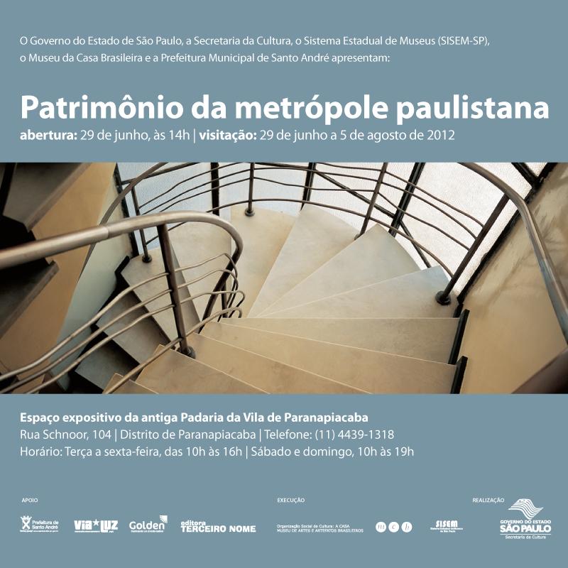 Patrimônio da metrópole paulistana - Museu da Casa Brasileira / São Paulo - SP