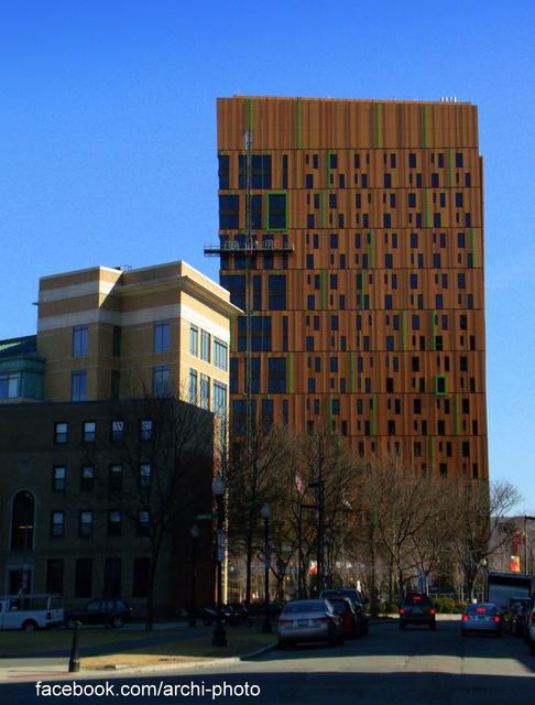 Em construção: MassArt Student Residence Hall / ADD Inc, © Paul Clemence