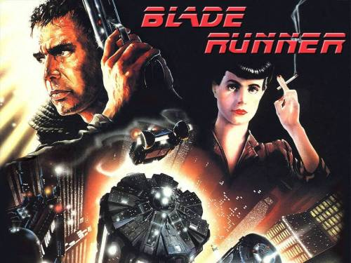 "Cinema e Arquitetura: ""Blade Runner"", Cartaz"