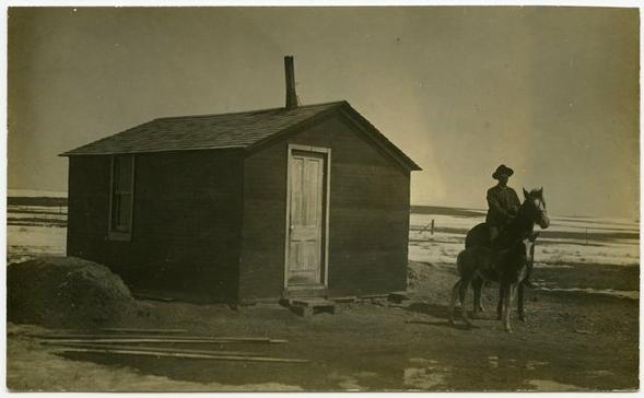 Os primeiros colonizadores do século passado / Estados Unidos, © Michael Williams