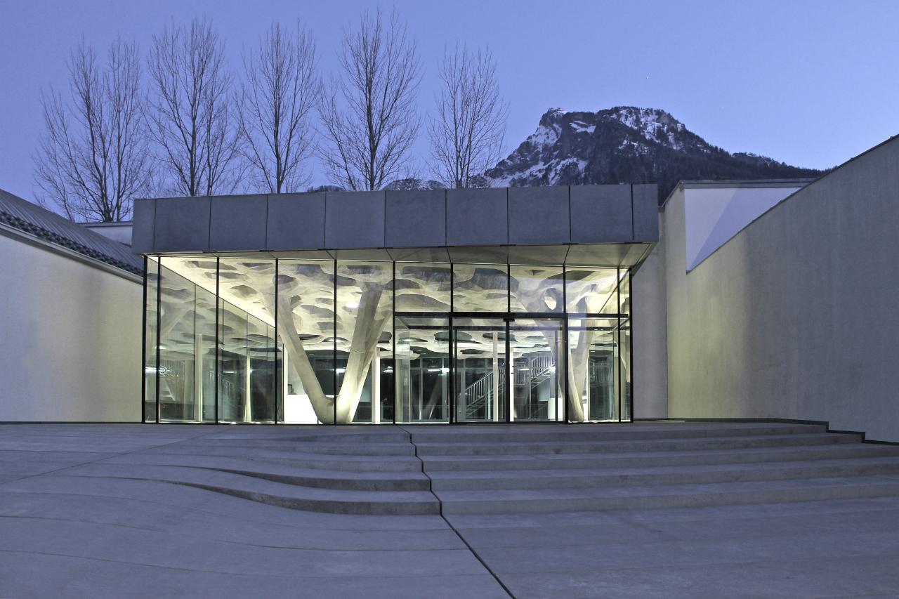 Extensão do Building Academy de Salzburg / soma, © Florian Hafele