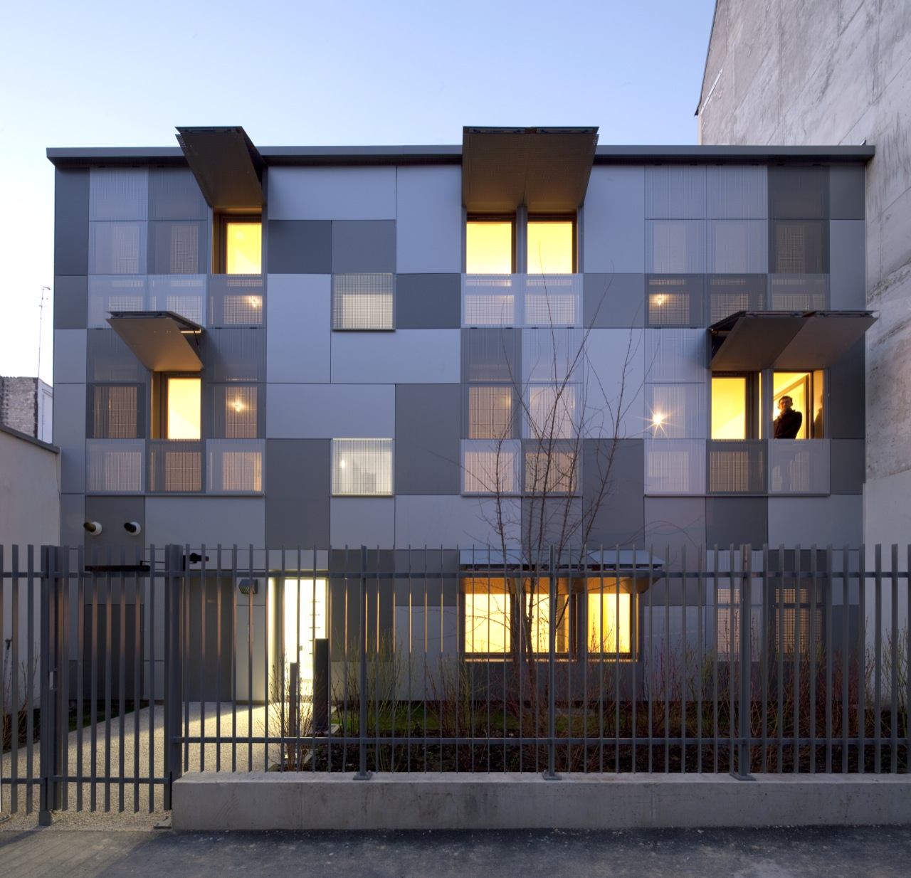 10 Logements Paris / RMDM Architects, Cortesia de RMDM Architectes
