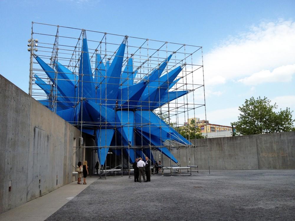 """Foi inaugurada """"Wendy"""", a estrutura ganhadora do YAP MoMA PS1, Wendy © ArchDaily"""