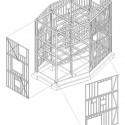 Axonométrica Estrutura