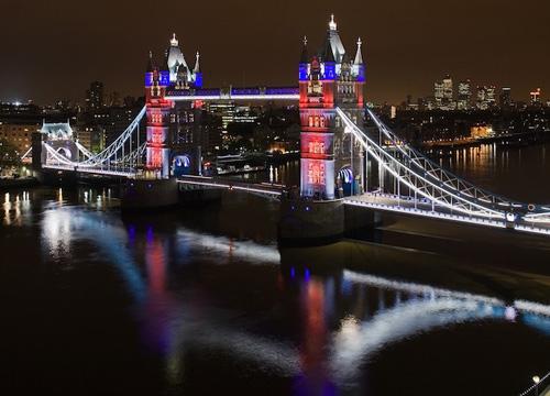Iluminação LED para os Jogos Olímpicos 2012: Tower Bridge / Citelum, Via GE Lighting