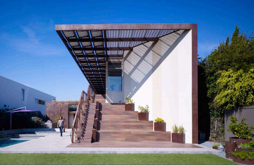 Painéis Solares fotovoltaicos: Casa Yin Yang / Brooks + Scarpa Architects , Via Brooks + Scarpa Architects