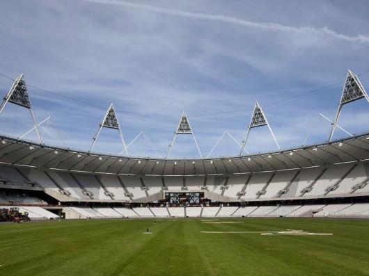 Time Lapse Londres 2012: Estádio Olímpico, © Morley von Sternberg