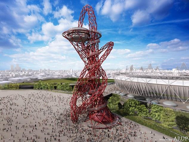 The ArcelorMittal Orbit - Londres Olímpica / Kapoor + Balmond, ©  Arup