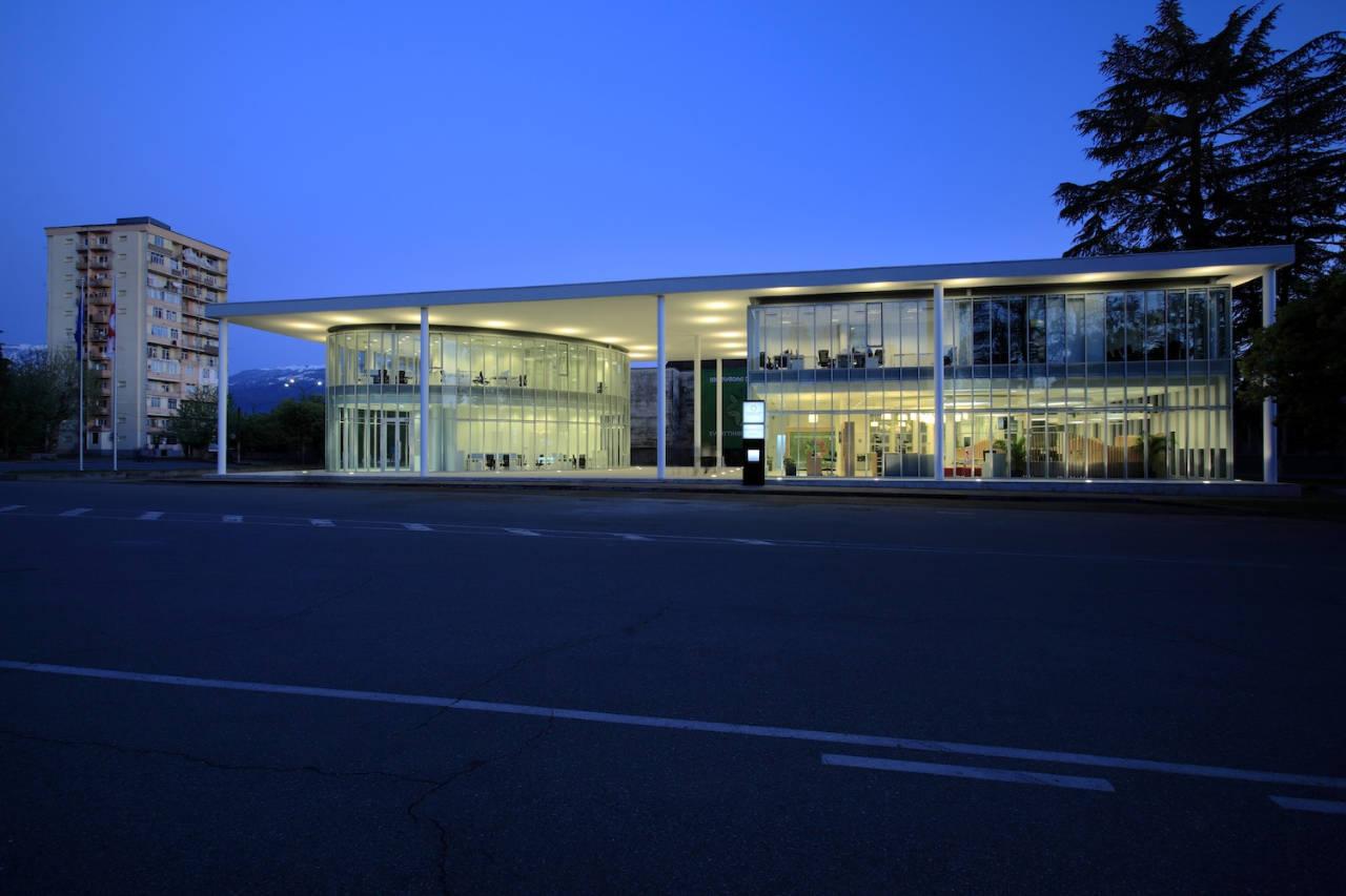 Ministério da Justiça de Ozurgeti / Architects of Invention, © Nakani Mamasakhlisi photo lab