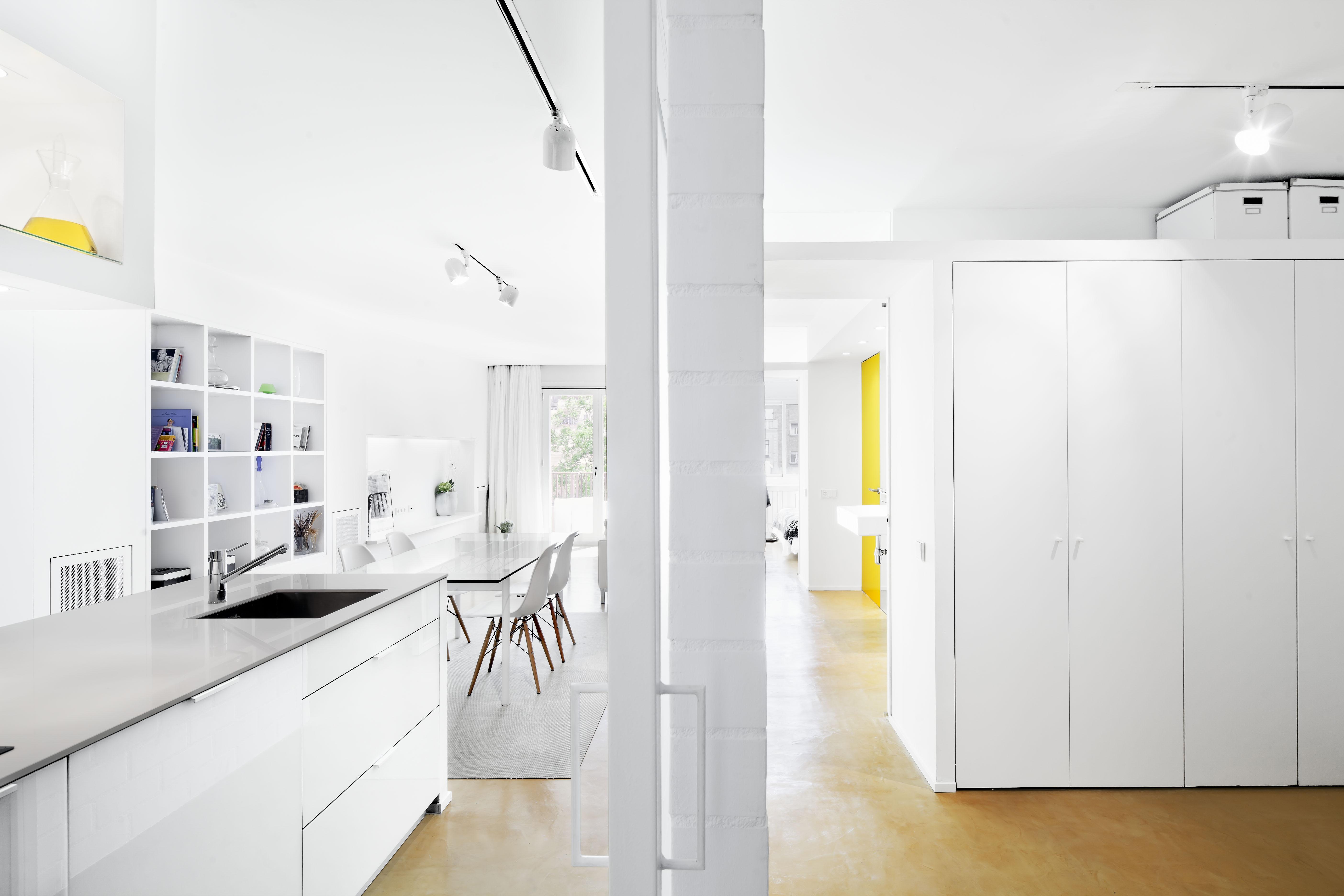 Apartamento com Veladuras / Sergio Pons, © Adrià Goula