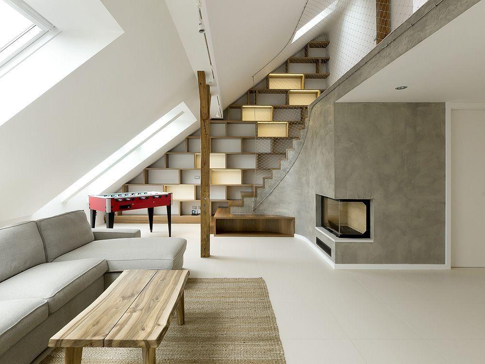Rounded Loft / A1 Architects , © A1Architects A1Architects