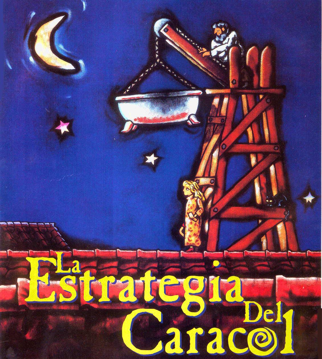 """Cinema e Arquitetura:  """"La Estrategia del Caracol"""", Cartaz"""