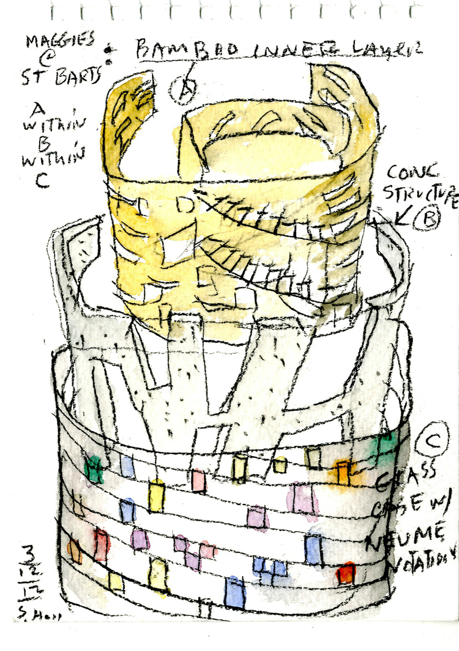 Steven Holl revela novo conceito para Barts Maggie de Londres / Reino Unido, Cortesia de Steven Holl Architects