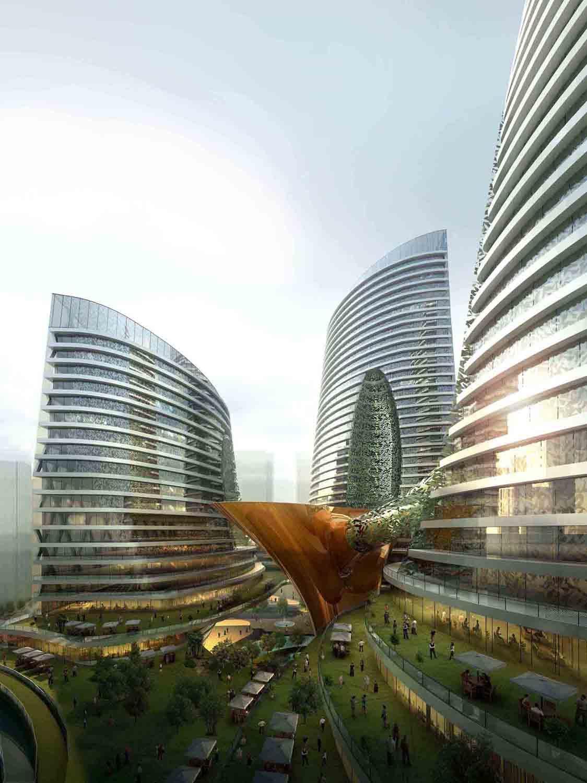 1° Lugar - Sede Administrativa da CLIC  / WILCOTER Architects , Cortesia de WILCOTER Architects