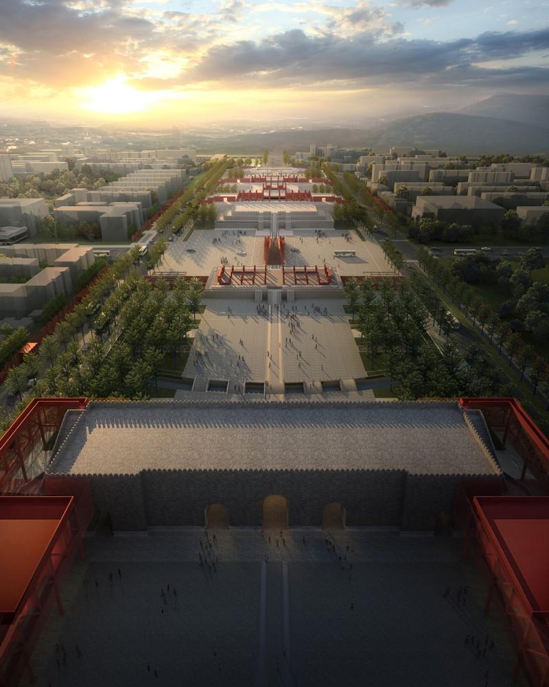 Revitalização da Cidade Proibida / Wilcoter Architects , Cortesia de WILCOTER Architects