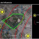 Campo de Mayo e localidades dentro de sua área de influência